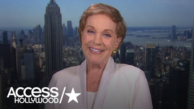Julie Andrews Talks 'Despicable Me 3' Role & Emily Blunt's 'Mary Poppins...