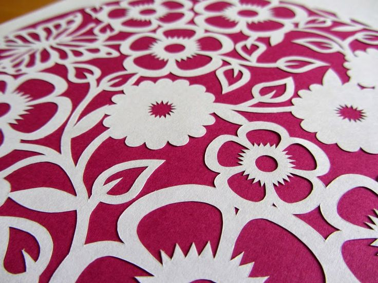 This is going to be a template for beginners to try their hand at paper cutting - follow my blog for more info!