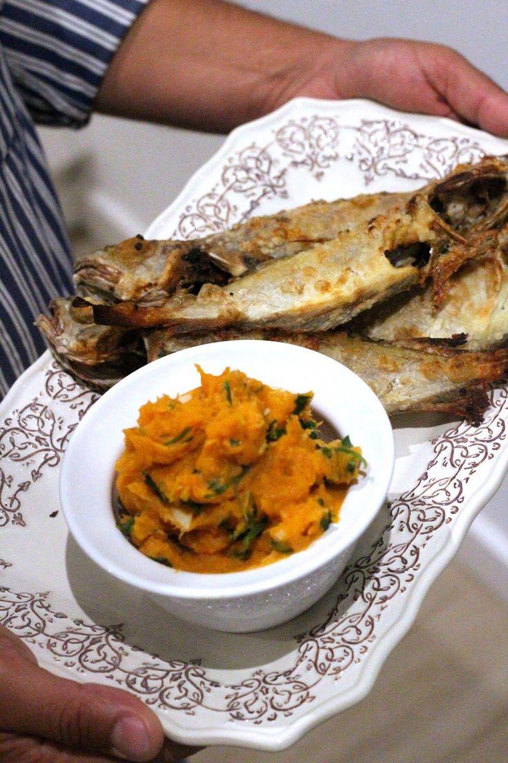 """Tenho gostado imenso do cabaz de peixe fresco do """"Peixinho da Lota"""". Tal como o meu cabaz de fruta e legumes da Dona Rosa, """"obriga-me"""" ..."""