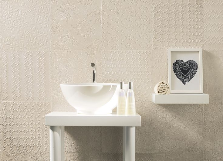 Soft #colours and lots of freshness in the #bathroom, with Sweet Revolution