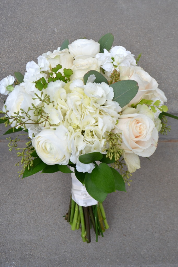 White Bridal Bouquets | Bella Rosa Floral Design