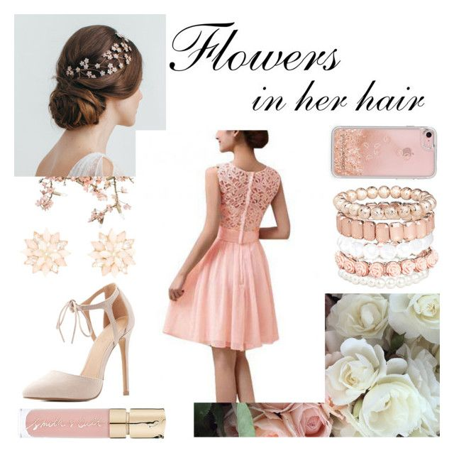Flowers in her Hair by monique-joanne on Polyvore featuring polyvore, fashion, style, Charlotte Russe, Avenue, Rebecca Minkoff, Smith & Cult, Canopy Designs and clothing