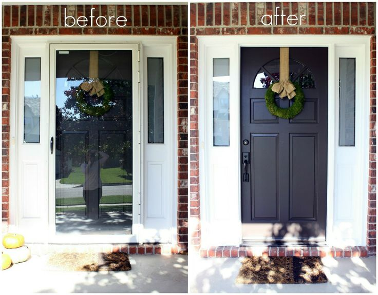 Best 25 painted storm door ideas on pinterest storm for Front door with storm door
