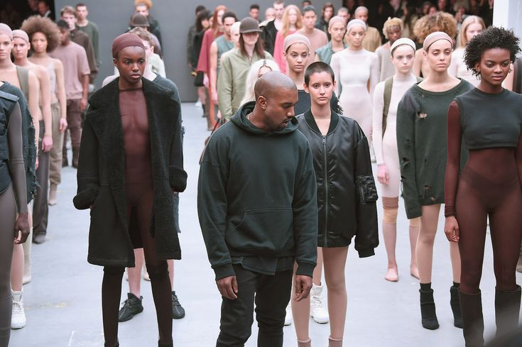 Last week at NYFW, Kanye West unveiled his first collection with Adidas*. Now, in all good faith, I should've written about this as soon...