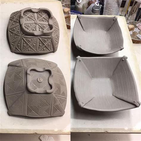Resultado de imagen de Slab Pottery Templates