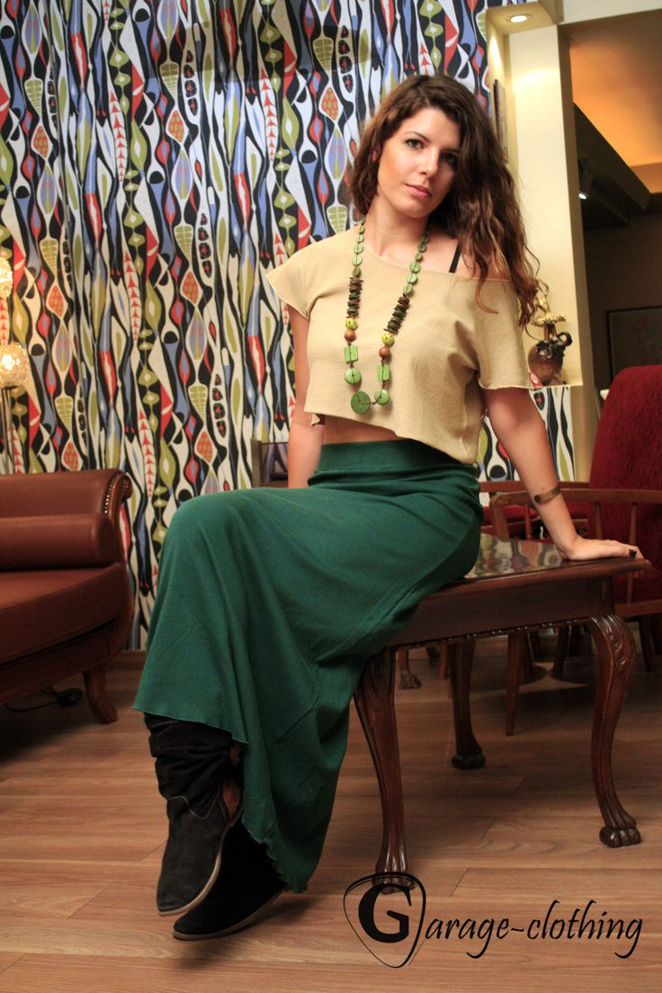 #maxiskirt  #croptop #garageing #clothing