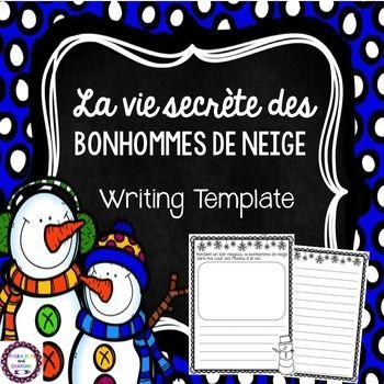 French La vie secrète des bonhommes de neige (Snowmen at N