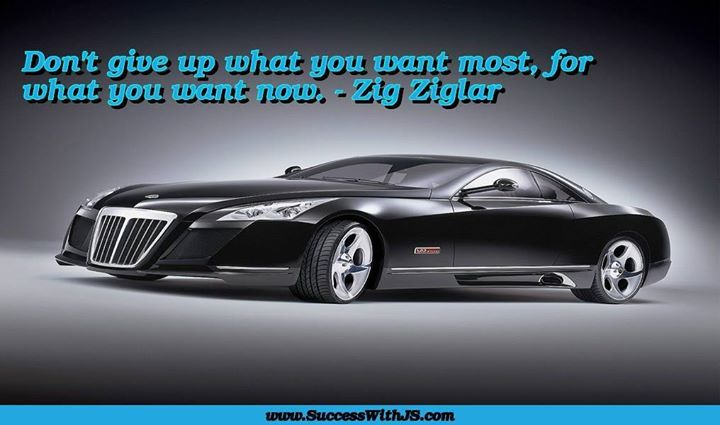 Don't give up what you want most for what you want now. - Zig Ziglar #success buff.ly/1pLKRmY