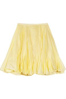 From Taking Cues from Resort 2014:  The Miniskirt  Chalayan bark-flared cotton miniskirt, $800