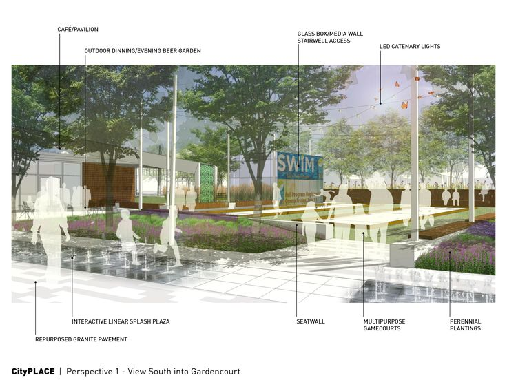 City-County Building Plaza Design Competition | Indianapolis, Indiana | Rundell Ernstberger Associates