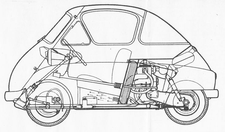 BMW Isetta (1959) | SMCars.Net - Car Blueprints Forum