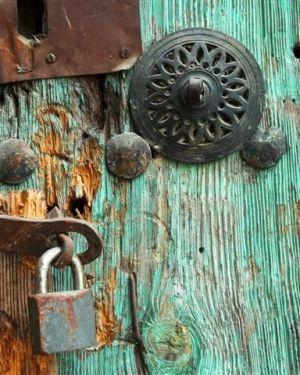 an old door..Safranbolu, Turkey