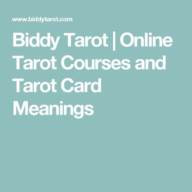 Biddy Tarot   Online Tarot Courses and Tarot Card Meanings
