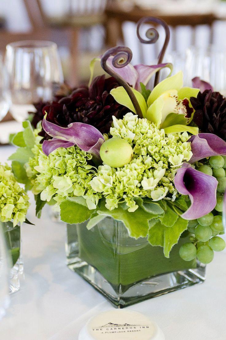 Centerpiece Floral Napa : Best images about grape centerpiece on pinterest set