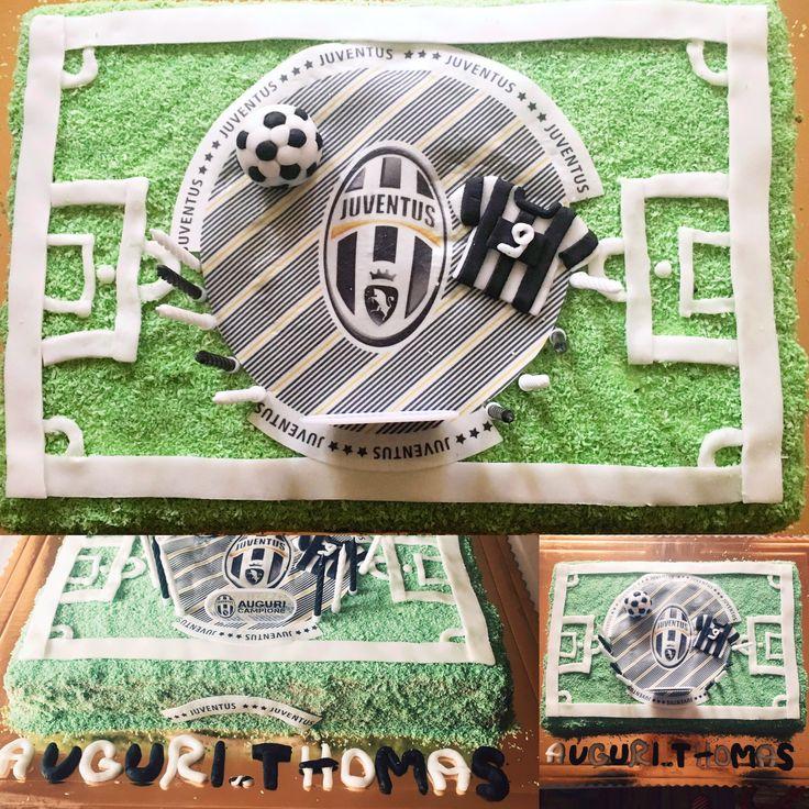 Torta campo di calcio Juventus