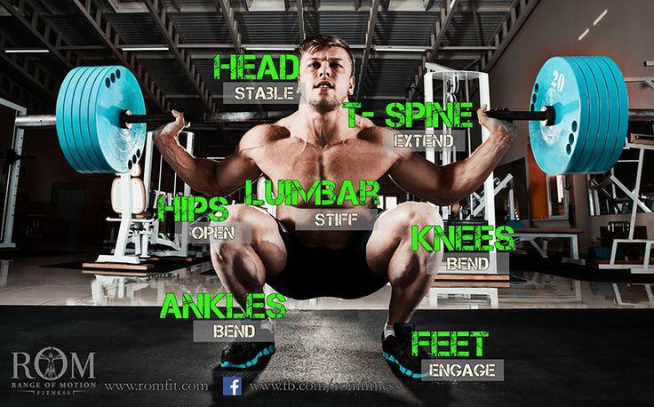 Back squat form