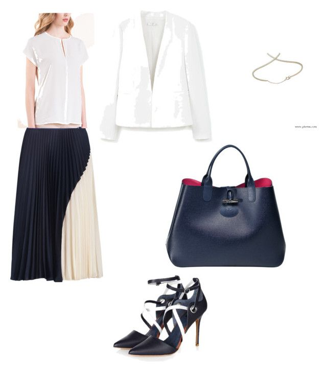 office look by the925editor on Polyvore featuring MANGO and Theory