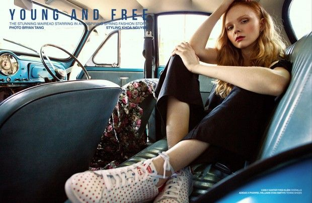 Young and Free by Bryan Tang for Design Scene