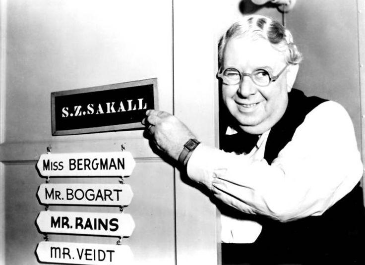 Casablanca cast member S.Z. Sakall