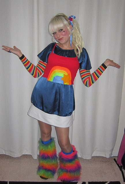 Rainbow Brite Costume Rainbow Brite Pinterest Photos