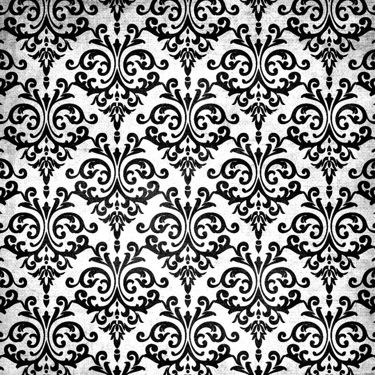 Las 25 mejores ideas sobre damask tatoo en pinterest y m s - Blanco y negro paint ...