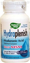 Nature's Way Hydraplenish Plus MSM combines two of the most important nutrients for joint care – Hyaluronic acid and MSM. It contains the exclusive Hydraplenish plus OptiMSM that offers a more bioavailable and lower molecular weight hyaluronic acid to support joint integrity and synovial fluid. MSM is an important component of healthy skin, nails, and hair. visit us http://www.tasmanhealth.co.nz/natures-way-hydraplenish-plus-msm/ for more details!!
