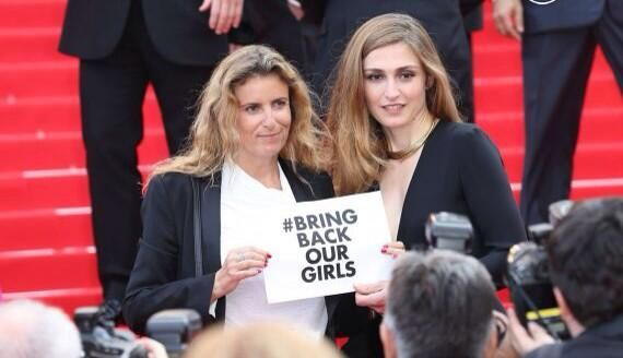 #BringBackOurGirls #Cannes2014 @IamJulieGayet @FdC_officiel