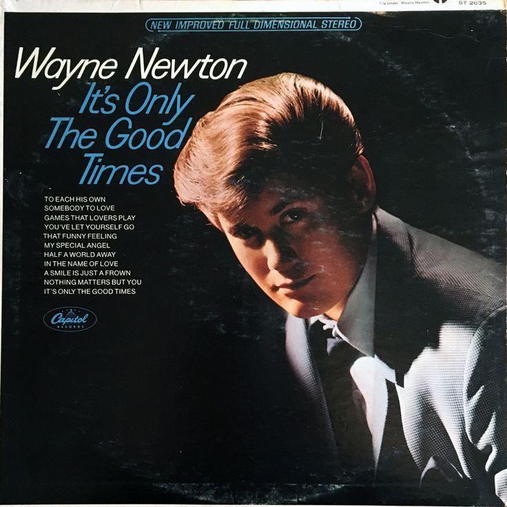 Wayne Newton It's Only The Good Times - vinyl LP