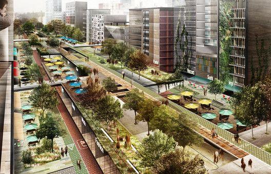 El emocionante proyecto del parque elevado sobre av. Chapultepec