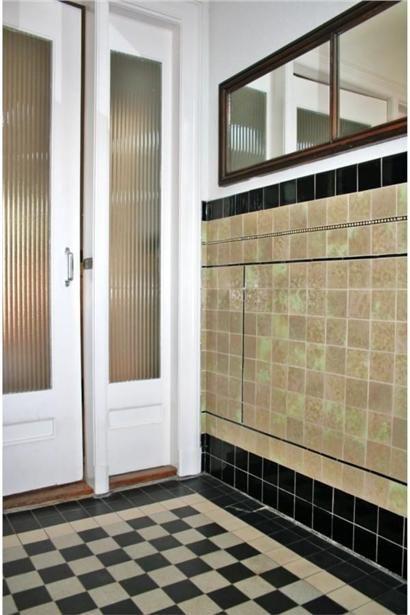 Kinderhuissingel 108 2013 AW Haarlem   mozaiek com   Jaren 20  u0026 jaren 30 woning   tegels