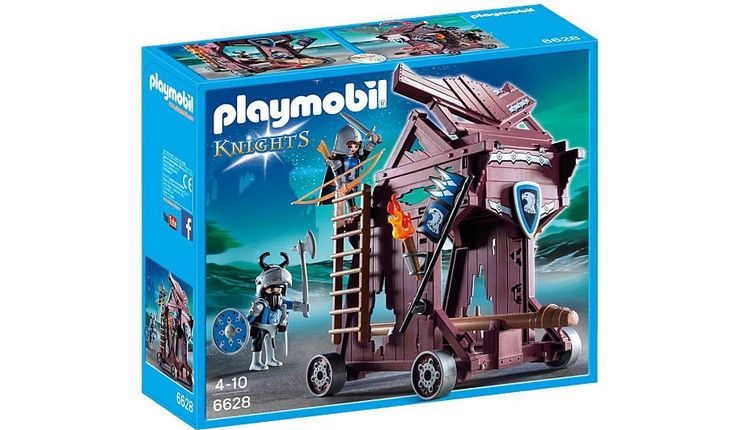 Playmobil Eagle Knights` Attack Tower 6628, read reviews and buy online at George at ASDA. Shop from our latest range in Kids. The Playmobil Eagle Knights' A...