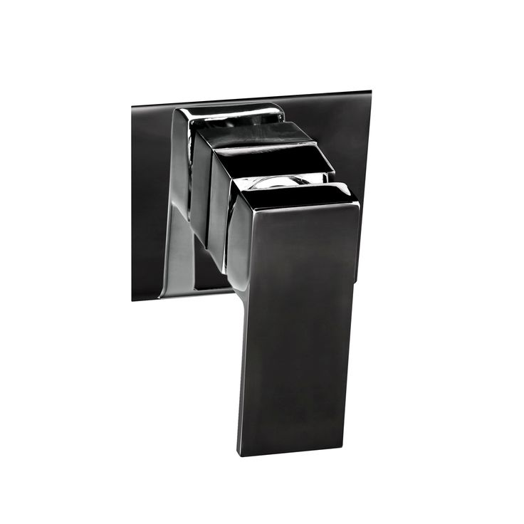 Lauren Project Wall Mixer -  T8608BK  #mixer #bathroominspo #laurenproject #bathroom #chrome #matteblack #mattblack #linkware #linkwareaustralia #renovate #build #DIY #bold #contemporary #wallmixer #showermixer