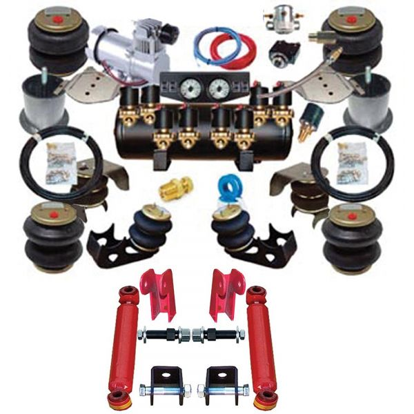 Chevy Air Ride Suspension Kit Complete 1949 1954 Air Ride