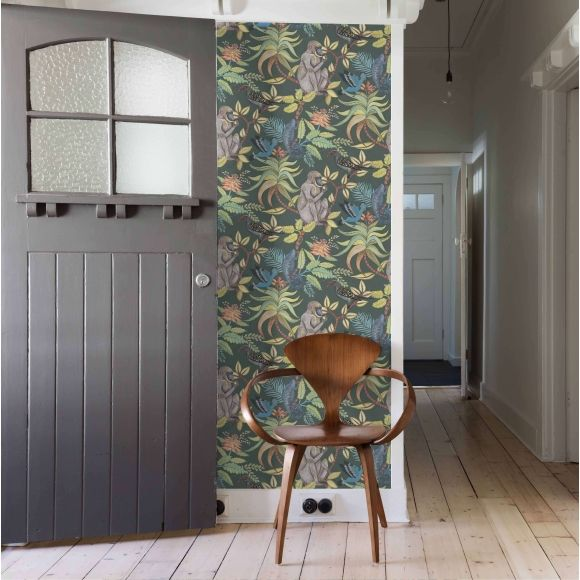 les 190 meilleures images du tableau papier peint tropical exotique sur pinterest papiers. Black Bedroom Furniture Sets. Home Design Ideas