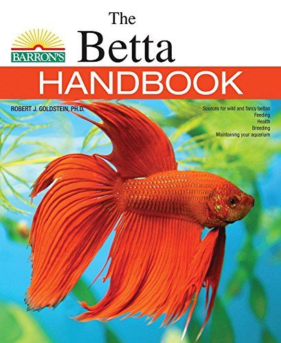 Titles in Barron's popular series of Pet Handbooks present comprehensive information and helpful advice from breeders, veterinarians, and other pet experts. These full-color books instruct on housing, feeding, healthcare, and more. In The Betta Handbook, those interested in these brilliantly colored beginners' fishes will learn how to keep them well-fed and healthy so they can continue to brighten the aquarium tank. #betta #bettas #bettatank #bettasplendens #bettafish #fish #aquarium…