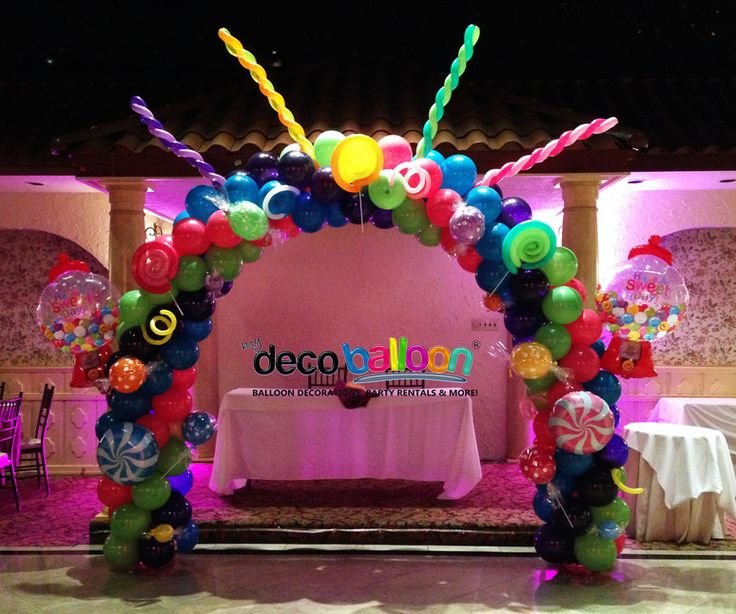 1000 images about balloon decor on pinterest balloon for Balloon arch decoration ideas