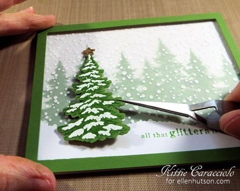 never found the tut but like he card Good Wednesday morning. I would like to invite you to join me in the CLASSroom for my Hero Arts Snowy Trees project and step by step tutorial. Thanks for coming by and I hope you have a great day.