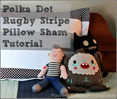 Maureen Cracknell's pillowcase is cute but I love the homemade dolls!  Riley Blake Designs Blog: Recent Blog Articles