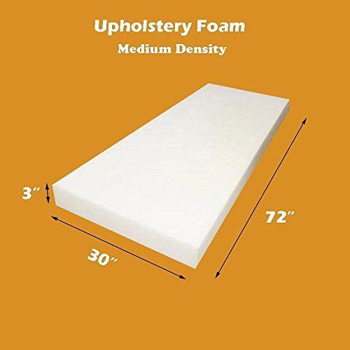 Mybecca Upholstery Foam Cushion Medium Density (Seat Repl...