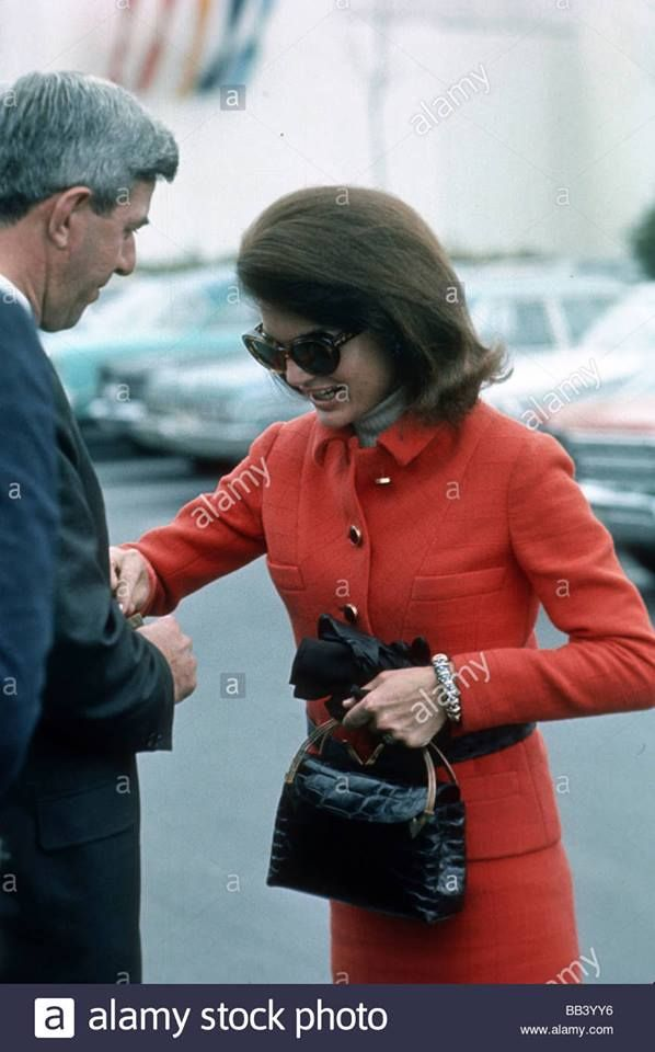 1967: Jackie at the Montreal Expo. Pinterest: KarinaCamerino