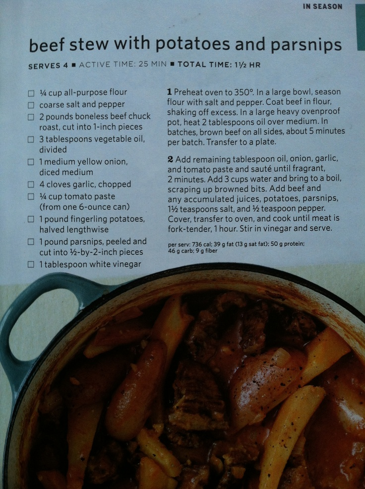 Beef stew with potatoes and parsnips   Halloween   Pinterest