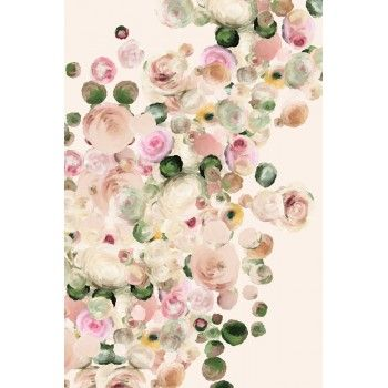 Print from a new media floral painting. Printed on Fine Art Bright White 100% acid free cotton rag with pigmented archival inks. Options Available as just the print, or with a custom frame. Click here
