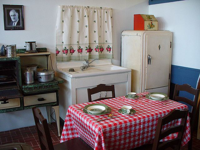 Kitchens From the 1940s | Recent Photos The Commons Getty Collection Galleries World Map App ...