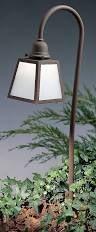 LV36-A Arroyo Craftsman Low Voltage A-Line Path Light with Twenty-Seven-inch Bo Peep Stem