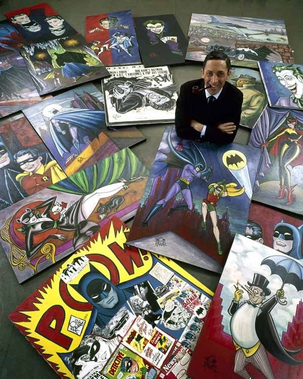 Bob Kane, co-creator of Batman (although typically solely credited, at the expense of Bill Finger]