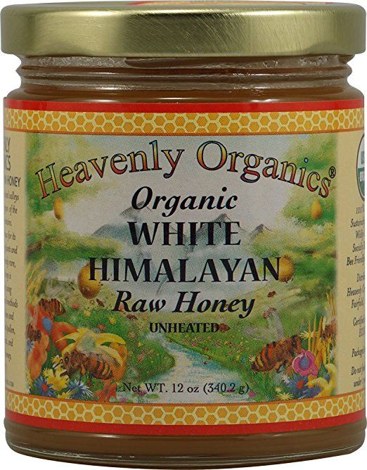 Heavenly Organics Organic Himalayan Raw Honey