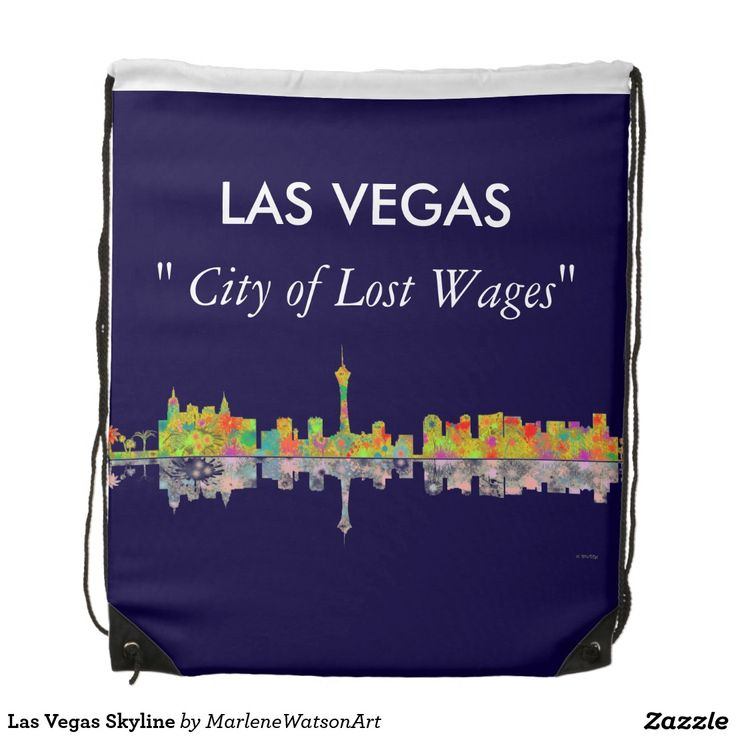 Las Vegas Skyline Backpacks
