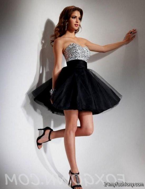White Prom Dresses - Black Dresses 106