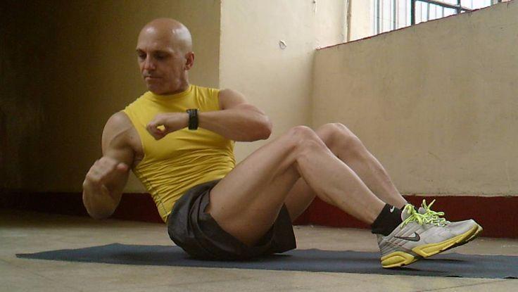 Giros rusos con Medicine Ball / Russian Twists with Medicine Ball