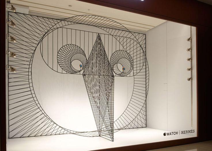 GamFratesi designs animalistic Apple Watch window display